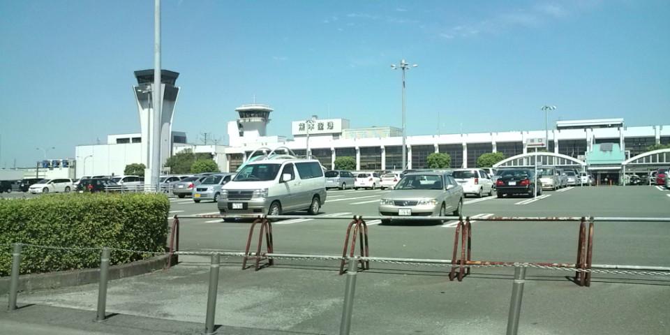 熊本空港到着